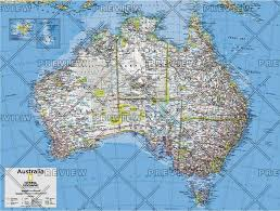 atlas map of australia australia political atlas of the world 10th edition 2015 by