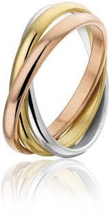 tricolor ring bol montebello ring sertifera 316l staal tri