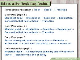 how to write a introduction paragraph for an essay how to write an analytical essay 15 steps with pictures