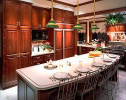 Kitchens With Bars And Islands Dazzling Kitchen Bars And Islands Of Pendant Light Fixtures Over