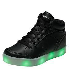 high top light up shoes airwalk jazz girls high top light up shoe payless