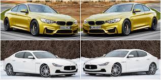 maserati ghibli vs bmw 5 series benim otomobilim 2014 bmw m4 vs 2014 maserati ghibli diesel