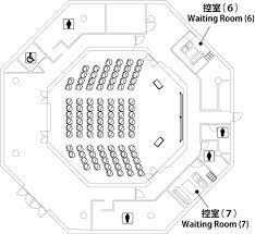purpose of floor plan media hall jasso