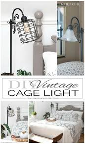 diy vintage cage light salvaged inspirations
