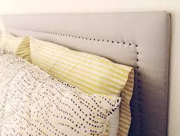 fabric covered headboard diy home design ideas