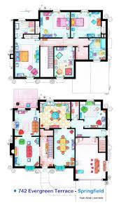 simple floor floor plan of a house modern 3d 2 storey design simple with