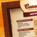 catering brochure design awesome catering menu template flyer by