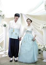 korean wedding dress between modern and traditional fashion korean