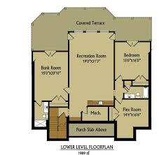 House Floor Plans With Walkout Basement Appalachia Mountain A Frame Lake Or Mountain House Plan With Photos
