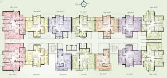 3 Bhk Apartment Floor Plan by Presidency Lifestyle 2 And 3 Bedroom Bhk Flats Apartments