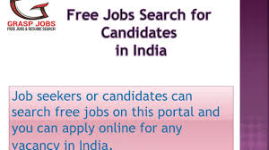 Job Seekers Resumes by Search Free Resumes Of Candidates Online In India Graspjobs