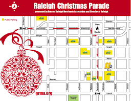 parade day map route of parade greater raleigh merchants
