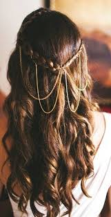 coiffure mariage cheveux lach s coiffure mariage cheveux mi lachés bouclés ma coupe de cheveux