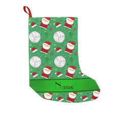 volleyball santa holiday decorations u0026 christmas décor zazzle