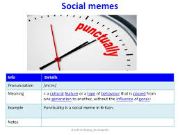 Meme Meaning And Pronunciation - culture art and tradition nonstop ielts jen