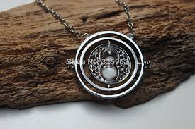 hermione necklace time images Harry potter time turner necklace hermione granger rotating spins jpg