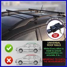 nissan almera roof bars dacia logan mcv 13 on dynamic anti theft lockable roof bars
