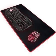 Gaming Desk Pad Stratagem Zone Xl Microfiber Gaming Deskpad