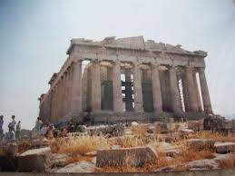 Parthenon Interior The Influence Of Ancient Greek Architecture Owlcation