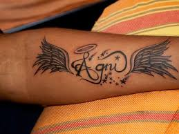 angel tattoo designs with names tattooic