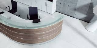 Semi Circular Reception Desk Semicircular Reception Desk Corner Modular Illuminated