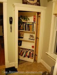 detailed tutorial for making a hidden bookcase door i solemnly