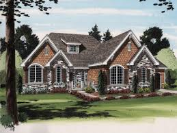 house french country ranch house plans
