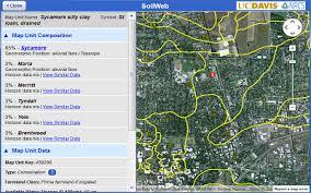 soil map california soil resource lab soilweb apps