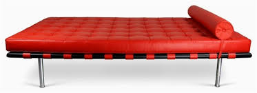 barcelona canapé chaise barcelona unique barcelona daybed midcentury chaise longue by