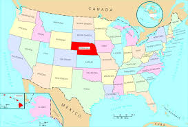 Nebraska Time Zone Map by Usa Map Nebraska My Blog