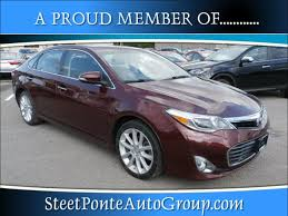 certified used toyota avalon certified used 2013 toyota avalon for sale near utica in yorkville