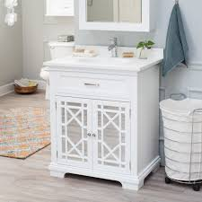 Free Standing Bathroom Vanities by Free Standing Single Sink Vanities Hayneedle
