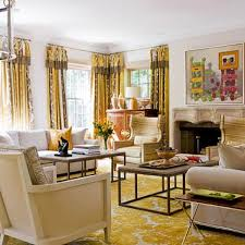 Yellow Livingroom by Colorful Living Rooms Traditional Home