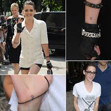 Black Flag Tattoos Kristen Stewart U0027s Tattoo At Chanel Show In Paris 2013 Popsugar