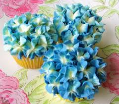 Buttercream Frosting For Decorating Cupcakes Best 25 Hydrangea Cupcakes Ideas On Pinterest Pretty Cupcakes