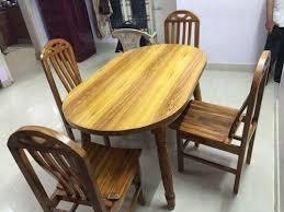 Teak Wood Dining Tables Teak Wood Dining Table Set At Rs 13500 S Nanganallur