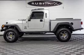 pre owned 2006 jeep wrangler rubicon brute conversion silver
