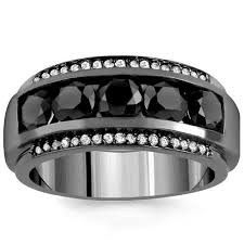 black diamonds rings images Mens black diamond rings black diamond rings for men avianne co jpg