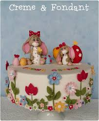 Fondant Easter Cake Decorations by 614 Best Cakes Of The Spring U0026 Easter Images On Pinterest