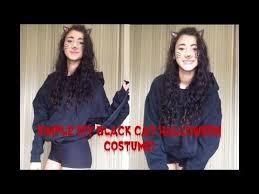 Black Kitty Halloween Costume Diy Black Cat Halloween Costume