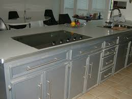 White Metal Kitchen Cabinets Silver Color Kitchen Cabinets Cliff Silver Gray Kitchen Cabinets
