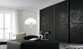 kitchen interesting modern black wardrobe design idea with gray