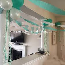 mint green streamers mint and white crepe paper streamer birthday party supplies