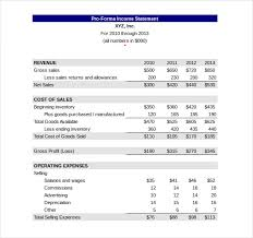 Personal Income Statement Template Excel Income Statement Template 17 Free Word Excel Pdf Format