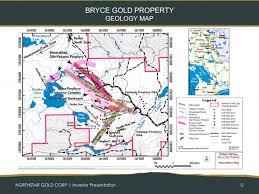bryce map pdf bryce gold presentation northstar gold corp