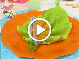 pliage de serviette en papier 2 couleurs feuille charming pliage serviette en feuille 12 pliage de serviette