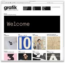 design magazine site we made this grafik launch their website