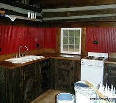 Salvaged Kitchen Cabinets Barnwood Kitchen Cabinets Salvaged Barn Wood Used To Reface
