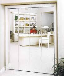 Stanley Bifold Mirrored Closet Doors Mirror Design Ideas Verticle Edges Bifold Mirrored Wardrobe Doors