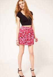 cute teenagers top collection floral print dress for teens